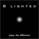 b lighted logo
